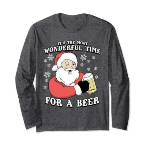 It's the Most Wonderful Time for a Beer Shirt - Amazon Prime